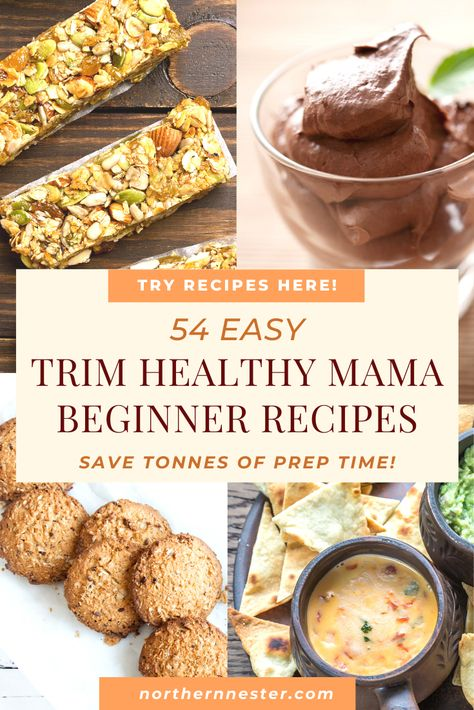 Looking for some easy trim healthy mama beginner recipes? These incredible dishes are so quick to make and full of nourishing ingredients! Trim Healthy Mama Diet, Trim Healthy Recipes, Thm Recipes, Health Recipes, Cream Recipes, Lunch Recipes, Recipies, Healthy Family Meals, Healthy Foods To Eat