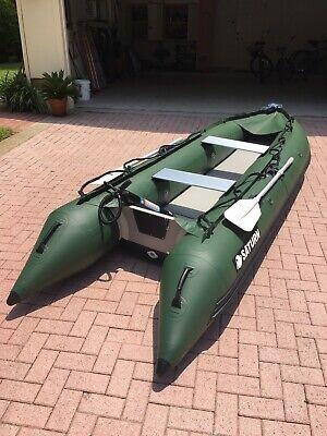 Advertisement Ebay Slightly Used 13 Foot Saturn Kaboat Model Sk385xl Inflatable Fishing Kayak Kayak Pro Fun Sports