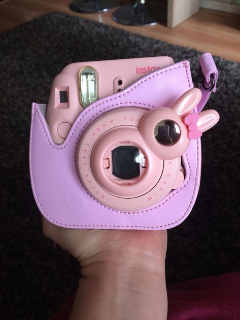 Pink instax mini 8. Lente de conejito con espejo - Instax Camera - ideas of Instax Camera. Trending Instax Camera for sales. #instaxcamera #camera #instax -  Pink instax mini 8. Lente de conejito con espejo