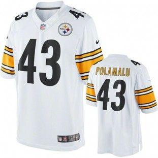 2916d0745 Pittsburgh Steelers Troy Polamalu 43 Toddler Replica Game Jersey (Black) Pittsburgh  Steelers Merchandise Pinterest ...