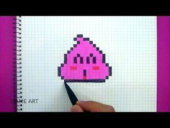 Tuto Pixel Art Dessiner Du Vernis à Ongles Kawaii