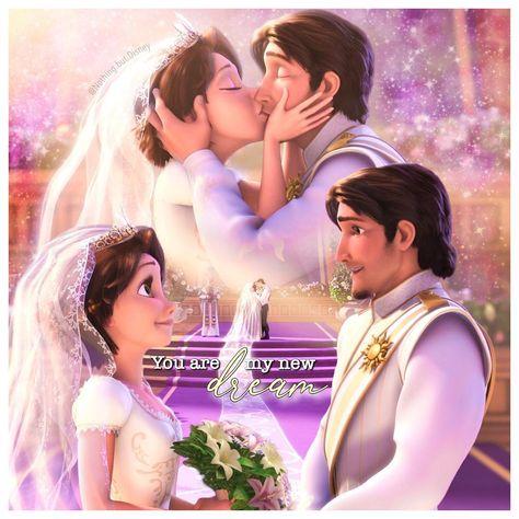 Tangled Ever After (2012) ••• Best wedding, Rapunzel and Eugene