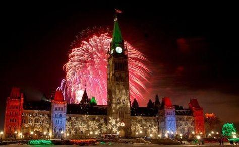 Resultado de imagem para ottawa new years eve 2017