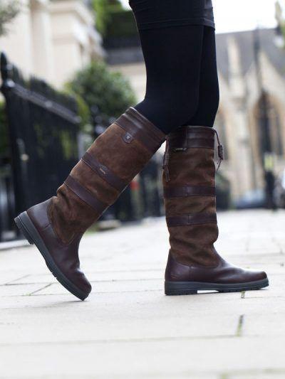 Galway Leder Stiefel Walnut