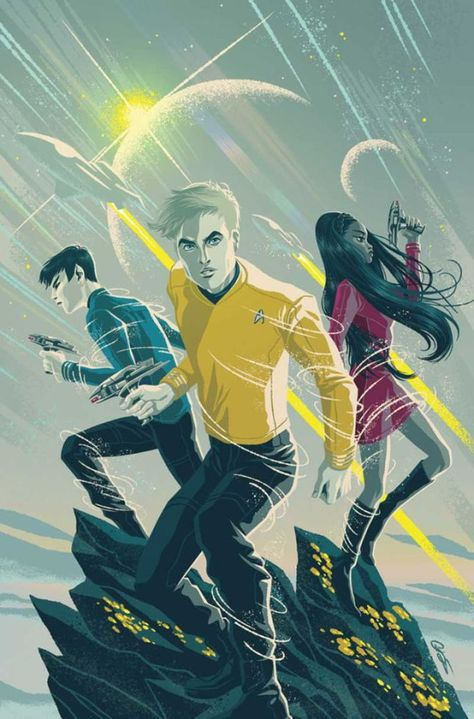Star Trek: Boldly Go by IDW PUBLISHING, Cover #1