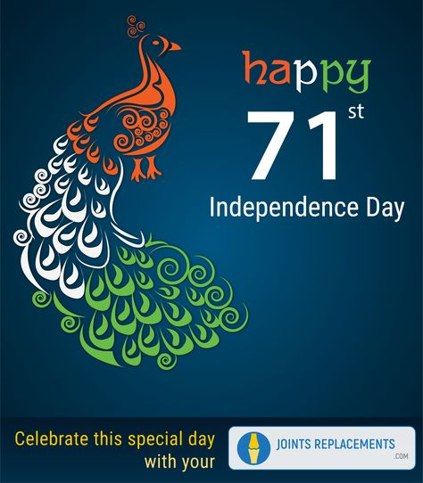 Happy 71st Independence Day.  Celebrate this special day with your Joints Replacements Visit: www.jointsreplacements.com  #IndependenceDayIndia #HappyIndependanceDay #IndependenceDay #IndiaAt71 #Independenceday2017 #JointsReplacements #BestDoctor #HipSurgery #Ortho #ApolloDoctor #ApolloChennai #Chennai #orthopedicSurgeonChennai #BestSurgeonChennai #KneeReplacement #shoulderReplacement #Arthroscopy #TotalHipReplacement #JointReplacement #FractureTreatment #DRKKrishnamoorthy