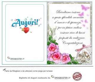 Risorse E Servizi Web Gratis Auguri Di Nozze Biglietto Di Matrimonio Auguri Di Buon Compleanno