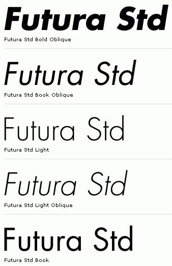 Futura Std Book Normal Font Free Download - ▷ ▷ PowerMall
