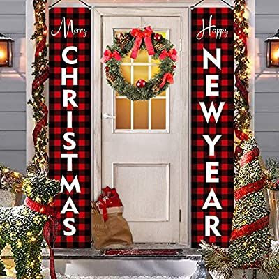 Amazon Com Christmas Decorations For Home Modern Farmhouse Decor Merry Christmas H In 2020 Outdoor Christmas Decorations Outdoor Christmas Modern Farmhouse Decor