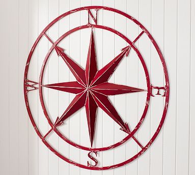 Nautical Star Painting Fine Art Print Afiches Y Dibujos Pinterest And Comp Rose