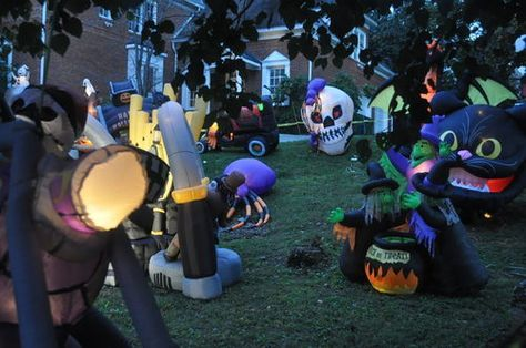 Buckhead House is Like the Mecca of Halloween Inflatables - That's Rather Spooky - Curbed Atlanta