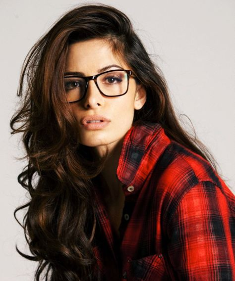 Sarah Shahi- Seeing her with these glasses makes me think she should play The Baroness in a reboot live action G.I. Joe movie or TV show. KP