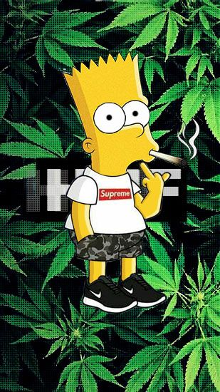 Pin By Jamthegod On Gleam In 2019 Trippy Wallpaper Bart