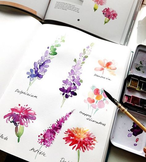Beginner watercolor artists may be intimidated when they first start watercoloring From saving money on the right supplies to editing mistakes, these 10 watercolor tips for beginners will help even the most newbie artist to feel more confident Typi - # Painting Tutorial, Watercolor Art, Flower Painting, Art Painting, Art Drawings, Watercolor Artists, Watercolor Flowers, Art Sketches, Watercolor Paintings Easy
