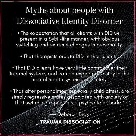 Trauma Dissociation: Photo