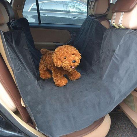Waterproof Dog Cat Puppy Pet Car Back Seat Hammock Blanket Cover Mat Orange Luggage & Travel Bags Luggage & Bags