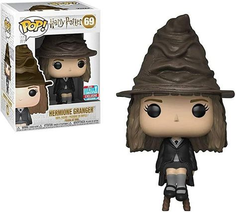 Funko POP! Harry Potter -  Hermione with Sorting Hat #69 (Exclusive)