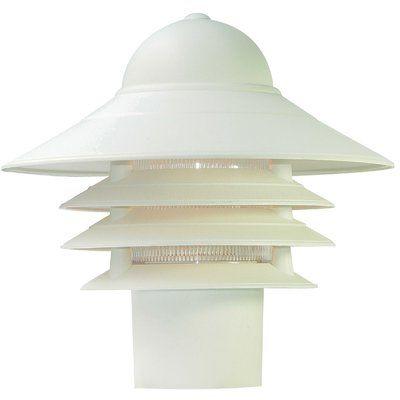 Breakwater Bay Caja Outdoor 1 Light Lantern Head Color Textured White In 2020 Outdoor Post Lights Lamp Post Lights Outdoor Light Fixtures