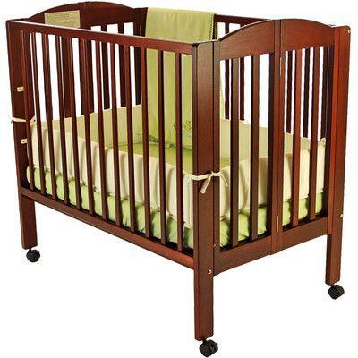 Dream On Me 2 In 1 Portable Folding Cr We Re Having A Baby Portable Crib Cribs Mini Crib