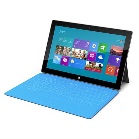 Microsoft Surface Pro 1 With Blue Keyboard Cover Intel Core I5 4gb 128gb Windows 8 Pro Surface Pen Not Included Microsoft Tablet Microsoft Surface Microsoft