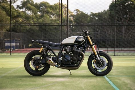 Custom Yamaha XJR1300 by RB Racing   Yamaha, Custom street
