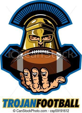 Usc Trojan Football Helmet Art Usc Trojans Usc Logo Usc Football