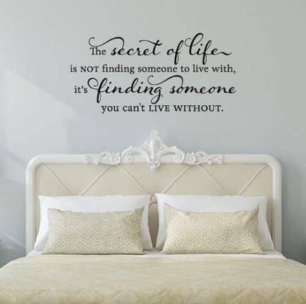 46 Super Ideas Diy Bedroom Wall Quotes Etsy Diy Quotes Wall