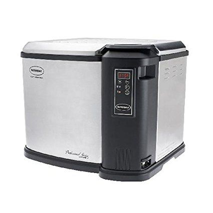 Butterball Xxl Digital 22 Lb Indoor Electric Turkey Fryer Steel And Black Review Electric Turkey Fryer Butterball Turkey Fryer Turkey Fryer