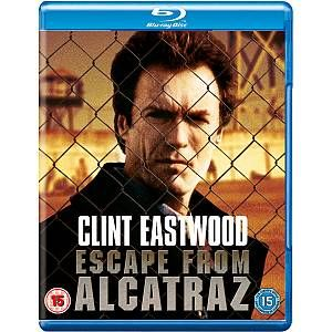 Escape From Alcatraz Blu Ray Movies Clint Eastwood Movie