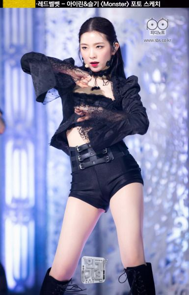 Dedicated To Female Kpop Idols In 2020 Red Velvet Irene Stage Outfits Velvet Clothes
