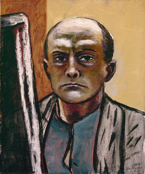 Painting: Max Beckmann, Bildnis Morton D. May in 2019