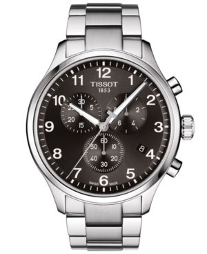 New Tissot Chrono XL Classic Mens Stainless Steel Watch