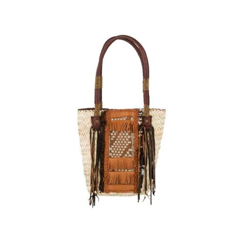 29604f75b295 Leather Tribal Basket Bag - Bags - Accessories   30PonteV.com ...