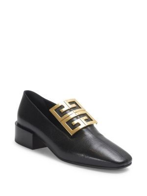 GIVENCHY | 4G Ornament Leather Loafers