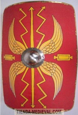 Scutum Romano Escudo Romano Escudo Mitologia Romana