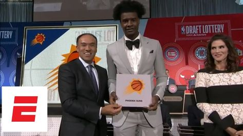 2018 NBA draft lottery: Phoenix Suns get No. 1 pick for first time