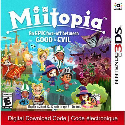 Miitopia 3ds Digital Download Nintendo 3ds Games Nintendo