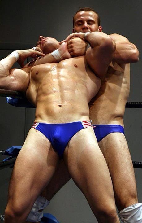 Gay speedo wrestling