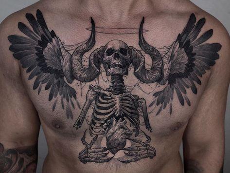 Home - Tattoo Spirit Best 3d Tattoos, Hand Tattoos, Cool Chest Tattoos, Body Art Tattoos, Crow Tattoos, Phoenix Tattoos, Tattoo Ink, Tatoos, Grey Ink Tattoos