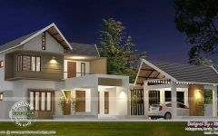 Separate Garage House Plan Kerala Home Design Floor Plans Building Intended For Separate Car Porch Design In Kerala