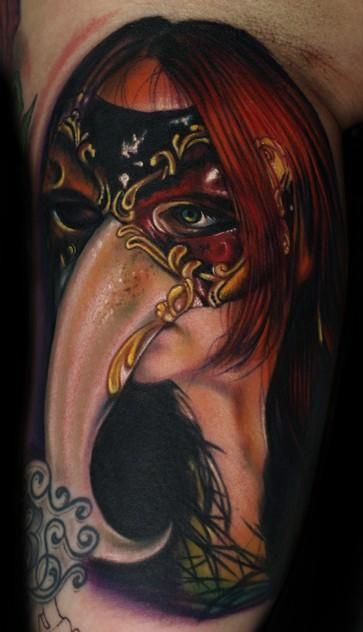 tattoo by Roman Abrego