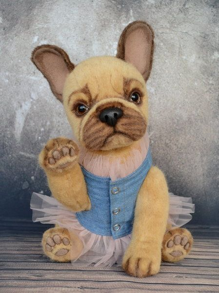 Bonnie By Petelina Natalia French Bulldog French Bulldog Blue