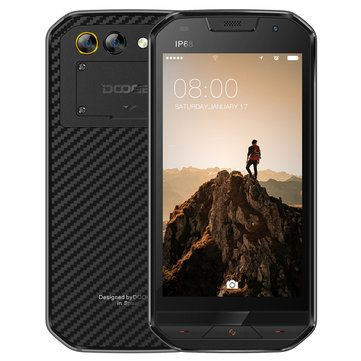 Doogee S30 5 0 Polegadas Ip68 Global Rom 2gb Ram 16gb Rom Mtk6737v Quad Core 5580mah 4g Smartphone Smartphone Phone Mobile Phone