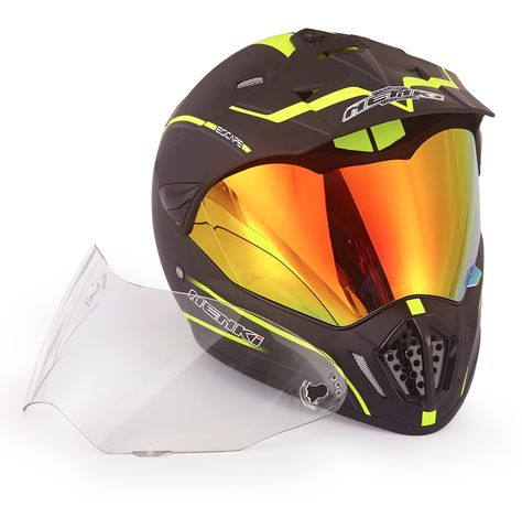 EVS T7 Podium Adult Motocross Motorcycle Helmet X-Small Black//Yellow