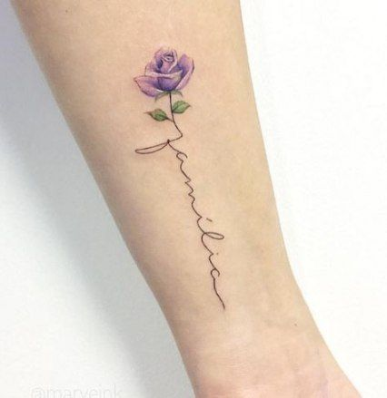 Super Tattoo Ideas For Moms With Kids Names Flower Ideas Rose Tattoo With Name Tattoos For Daughters Rose Tattoos On Wrist