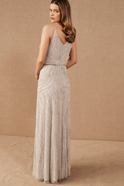 Fidelia Beaded Maxi Dress In 2020 Sparkly Bridesmaid Dress Sparkle Bridesmaid Dress Beaded Bridesmaid Dress