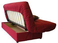 Victoria Clic Clac Storage Sofa Bed - Natural. at Homebase -- Be ...