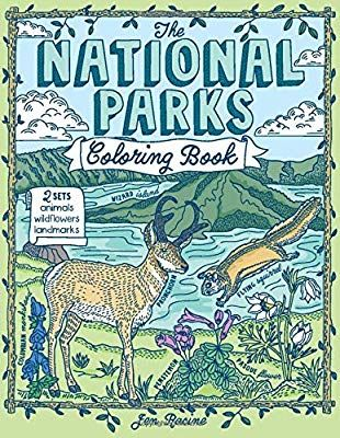 The National Parks Coloring Book Jen Racine 9781733695947 Amazon Com Books Coloring Books National Parks Books