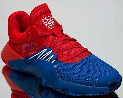 Issue 1 Basketball Shoes Blue//Red//Footwear Whit Boys/' Little Kids/' adidas D.O.N