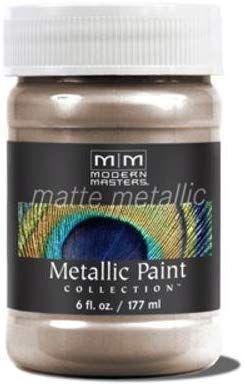 Modern Masters Inc Mm221 06 6oz Warm Silver Matte Metallic Household Paint Solvents Amazon Com Metallic Paint Modern Masters Matte Metallic
